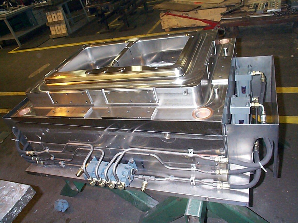 SMC Sink Mold final assembly